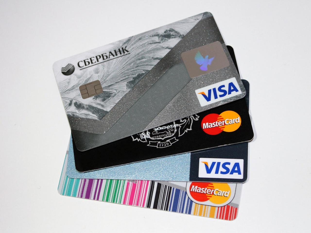 Quelles sont les différentes cartes de crédit?