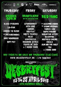 Desertfest berlin 2015