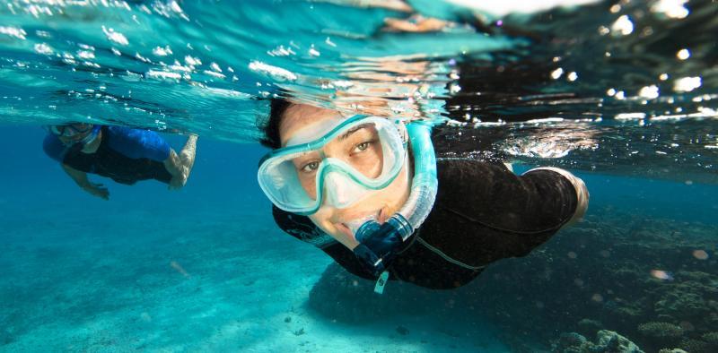Masque et tuba pour la plongée