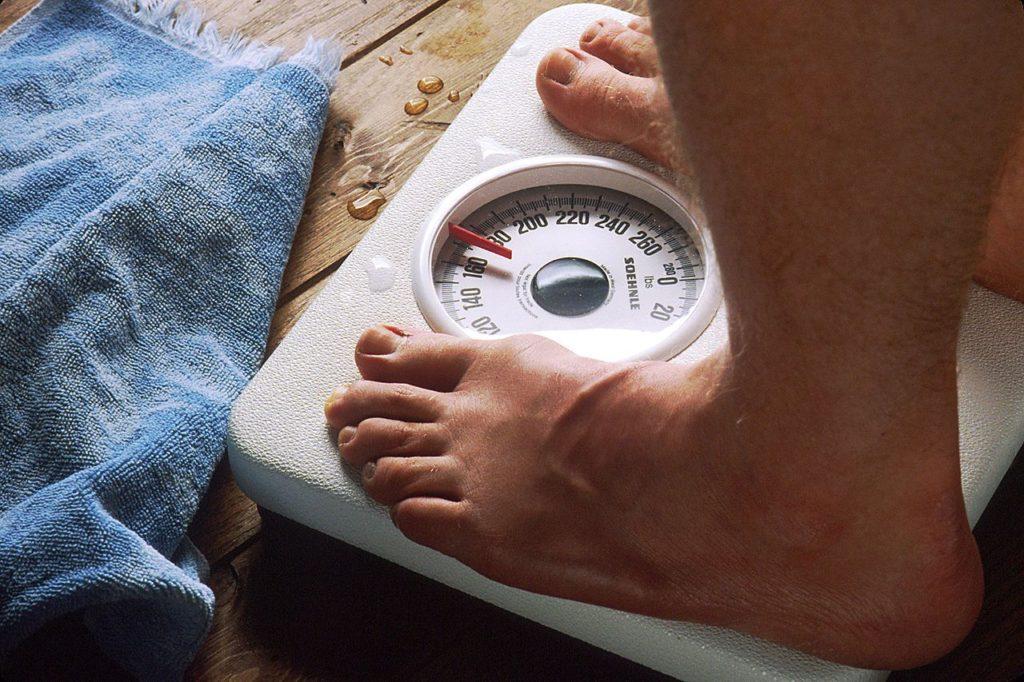 balance : perdre du poids
