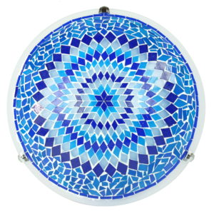 Plafonnier de décoration orientale en mosaïque Eshtan par KaravaneSerail