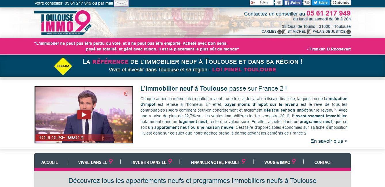 Envie d'investir dans l'immobilier neuf à Toulouse?