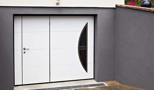 portes extérieures acier